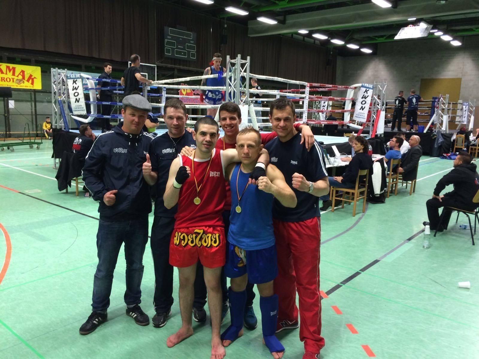 Kampfklub-tvg in der Wettkampfhalle